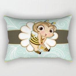 Bee Sexy Rectangular Pillow