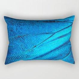 Blue Morpho Rectangular Pillow