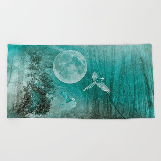 FOREST DREAMING Beach Towel