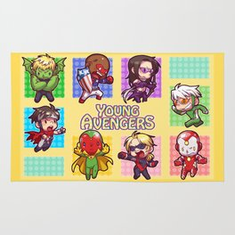 Young Avengers Rug