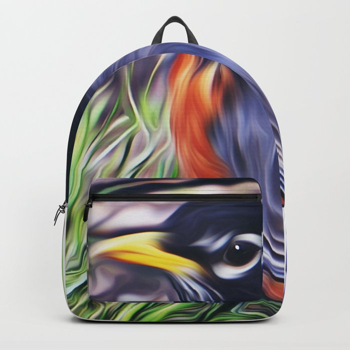 Red Breast Backpack