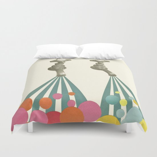 Soapsuds Duvet Cover