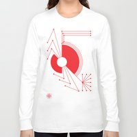 spider Long Sleeve T-shirts featuring Spider by Hinterlund