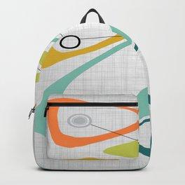 Mid Century Modern Art 01 Backpack
