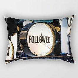 Clocks (Guinness Factory) Rectangular Pillow