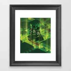 Search and Destroy Framed Art Print