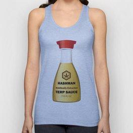 Hashman Terp Sauce Design by Outlet710.com Unisex Tank Top