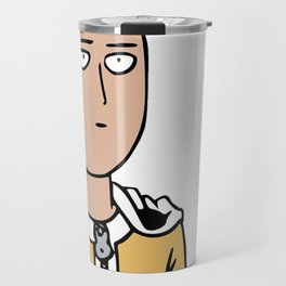 Saitama One Punch Man Travel Mug