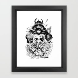 Legendary Framed Art Print