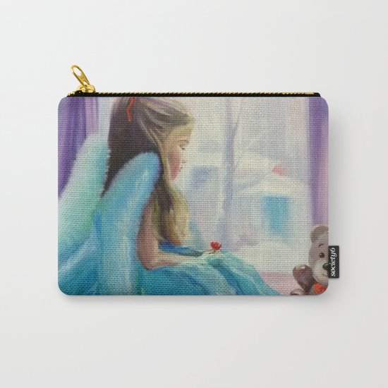 Angel Girl Carry-All Pouch