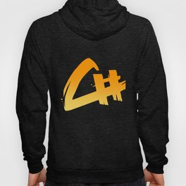 Capital Number Logo Hoody