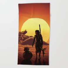 A Force Awakens Beach Towel