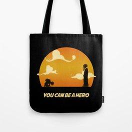 My Hero Sunset Tote Bag