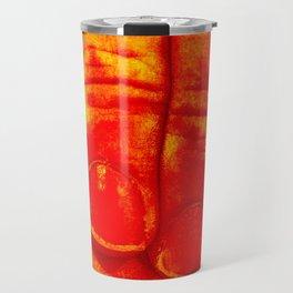 Dedos Rojos Travel Mug