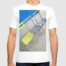 Chairs Mens Fitted Tee White MEDIUM