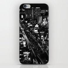 Dark Depths of Las Vegas iPhone Skin