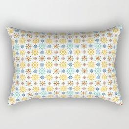 Scandi Nr.1 - Floral Geometric Rectangular Pillow