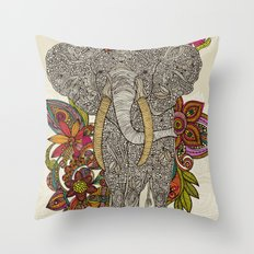 Walking in paradise Throw Pillow