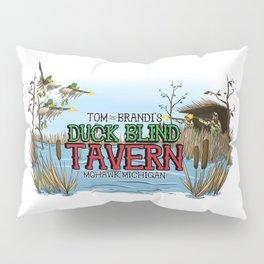 Tom and Brandi's Duck Blind Tavern, Mohawk, Michigan, Version II Pillow Sham