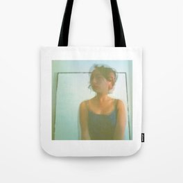 Chaos Around Her Tote Bag