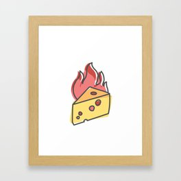 Extreme Cheese Framed Art Print