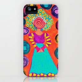 Spiralling iPhone Case