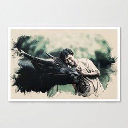 Wildlife Series - The bread earners Canvas Print
