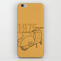 1975 iPhone & iPod Skins featuring Vespa Ts 1975 by usbe