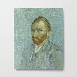 Vincent van Gogh - Self Portrait Metal Print