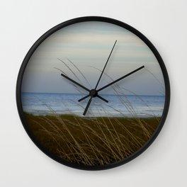Pegwell Bay in the setting sun Wall Clock