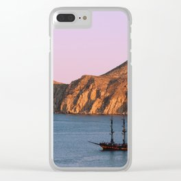 The Lonely Pirates Clear iPhone Case