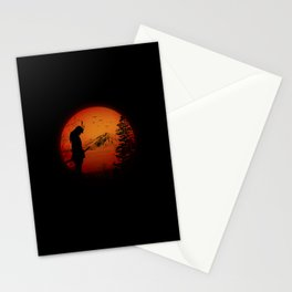 My Love Japan / Samurai warrior Stationery Cards