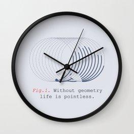 hed geo hog Wall Clock