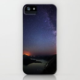 Crater Lake Galaxy iPhone Case
