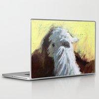 alpaca Laptop & iPad Skins featuring Alpaca Sunrise by J Han