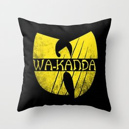 Wa-Tang Kanada! Throw Pillow
