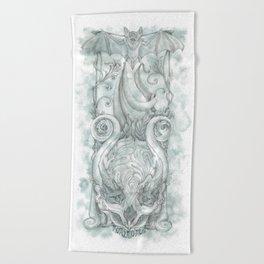 Memento Mori Beach Towel