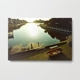 Possibilities for an Evening Sail Metal Print
