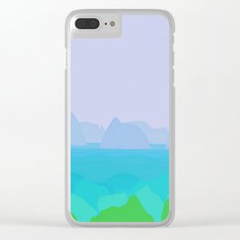 Resurrection Bay Clear iPhone Case
