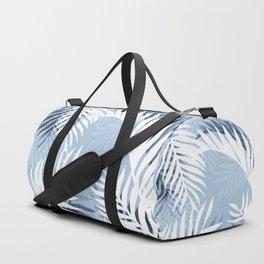 Tropical bliss - chambray blue Duffle Bag