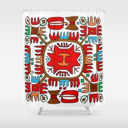 Elbetitsa Shower Curtain