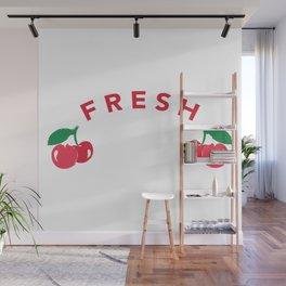Fresh Cherry Wall Mural