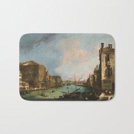 Canaletto Bernardo Bellotto - The Grand Canal In Venice Bath Mat
