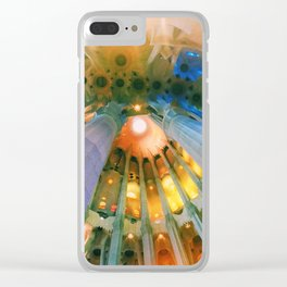 Sagrada Familia Barcelona Clear iPhone Case
