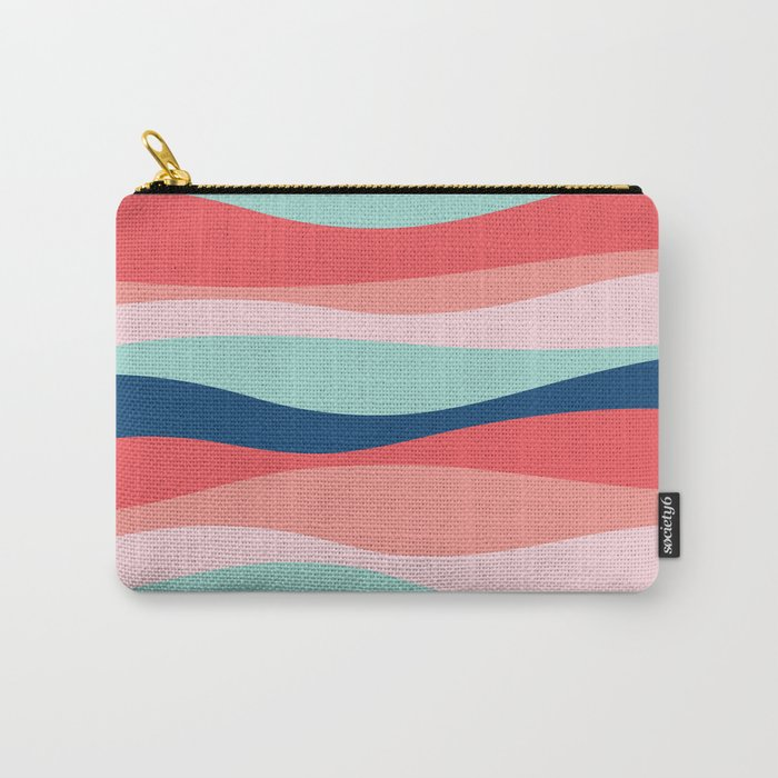 Good vibe wave pattern Carry-All Pouch