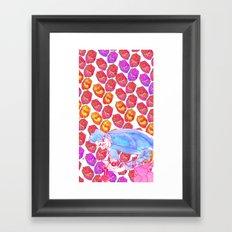 Diamond Pollen Framed Art Print
