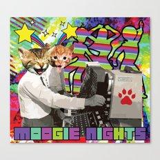 Moogie Nights Canvas Print