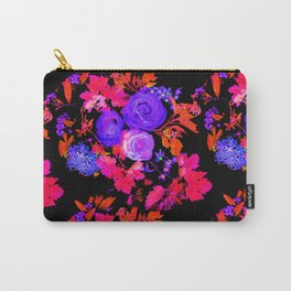 Rose Bloom 3 Carry-All Pouch