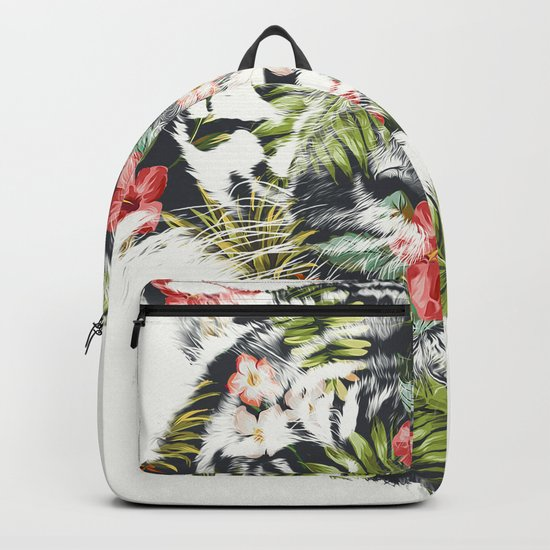 Tropical tiger Backpack