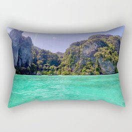 Emerald Water in Phi Phi island Rectangular Pillow